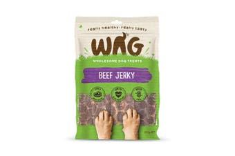 WAG Beef Jerky Dog Treat 200g