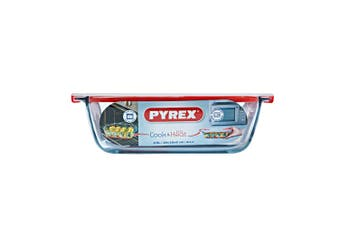 Pyrex Cook & Heat Rectangle Dish with Lid 2.5L