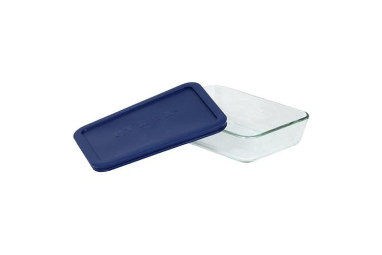Pyrex Simply Store Rectangular Container 3 Cup/709ml Blue
