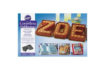 Wilton Numbers And Letters Cutter Pan Set