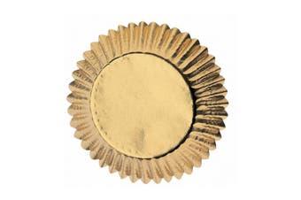 Wilton 24-Piece Gold Foil Baking Cups Set