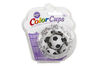 Wilton 24 Piece Soccor ColorCup Baking Cups Set