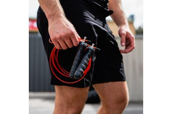 GND SKIPPING ROPE \\ RED ROCKET
