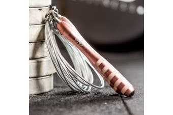 GND WEIGHTED SKIPPING ROPE // ROSE GOLD
