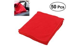 50pcs Bulk Microfibre Cleaning Cloth Microfiber Dish Car Towel Glass 30x30cm