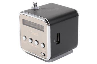 Recharegable Digital Music MP3/4 Player Speaker Portable Outdoor USB/TF/FM Radio