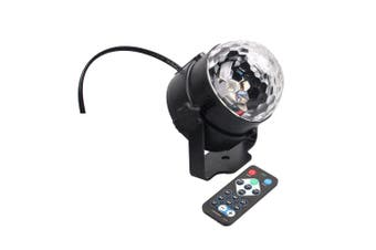 Party Lights Sound Activated Disco Lights Rotating Ball Lights RGB LED Stage Lights with Remote Control for Home Outdoor Holidays Dance Parties Birthday DJ Bar with AU Plug