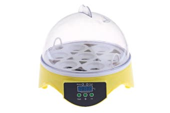 7 Egg Incubator Digital Led Chicken Duck Eggs Poultry Poultry Hatcher