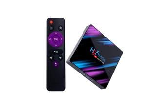 H96 Max RK3318 4+64G WiFi Bluetooth Android 9.0 TV Box Set-top Box AU Plug