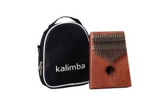 17 Keys Kalimbas Thumb Piano Mahogany Body Musical Instrument Finger Piano