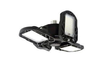 1 Pc Garage Light Four-leaf 360 Degrees Deformable Garage Light for Garage