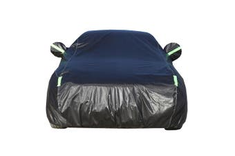 XXL Large Waterproof Oxford fabric Outdoor Car Cover Thick Rain UV Resistant AU