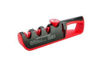 1pc Angle Adjustment Knife Sharpener Multifunction 4-in-1 Kitchen Knives Whetstone Sharpener Tool