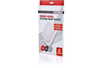 CLEAN UP Clean Up Home Hero Steam Mop Pads 2pk