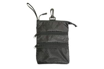 Proactive Zippered Caddy Pouch Black