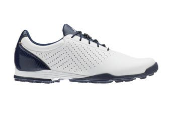 Adidas Ladies Adipure SC Golf Shoes - FTWR White/Coll. Navy