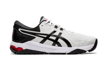 Asics Gel Course Glide Golf Shoes - Grey/Black/Red -  Mens Synthetic