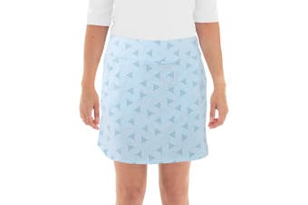 Nivo W Lion Pull-On Skort - Ice Blue