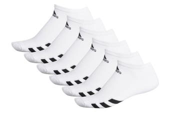 Adidas 6 Pack Ankle Socks - White