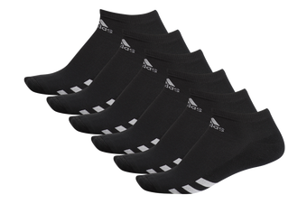 Adidas 6 Pack Ankle Socks - Black