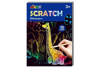 Avenir - Mini Scratch Book - Dinosaurs - Default