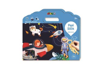 Avenir - Peel and Stick - Space Galaxy Play Set - Default
