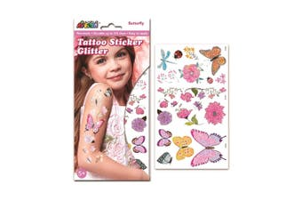 Avenir - Glitter Tattoo - Butterfly - Default