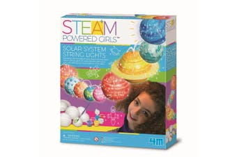 4M - STEAM Powered Girls - Solar System Toys String Lights - Default