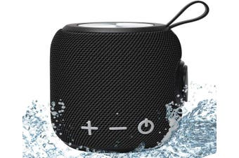 Portable Bluetooth Speaker,SANAG Bluetooth 5.0 Dual Pairing Loud Wireless Mini Speaker, 360 HD Surround Sound & Rich Stereo Bass,12H Playtime-Black
