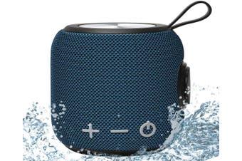 Portable Bluetooth Speaker,SANAG Bluetooth 5.0 Dual Pairing Loud Wireless Mini Speaker, 360 HD Surround Sound & Rich Stereo Bass,12H Playtime-Blue