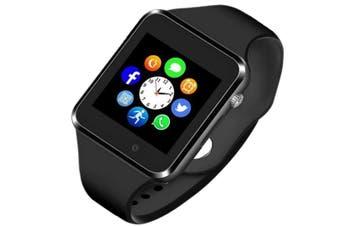 Smart Watch Bluetooth Touchscreen Smart Wrist Watch Smartwatch Phone Fitness Tracker with SIM SD Card Slot Camera Pedometer Compatible iOSAndroid