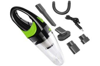 Handheld Car Vacuum Cleaner Cordless USB Charger Wet Dry Strong Cyclone Suction Lightweight