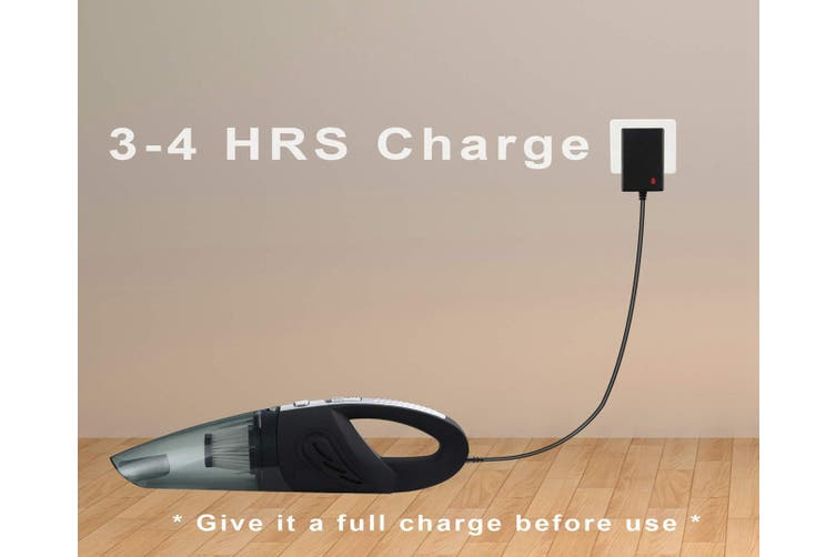 Handheld Cordless Vacuum Cleaner Cyclonic Suction, Wet & Dry Use, Quick Charge, Perfect for Home, Car, Pet Cleaning