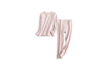 2PCS Unisex Underwear Suit Cotton Long Sleeve Suit  120cm
