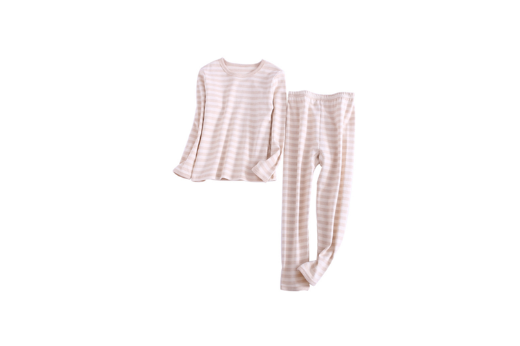 2PCS Unisex Underwear Suit Cotton Long Sleeve Suit  150cm