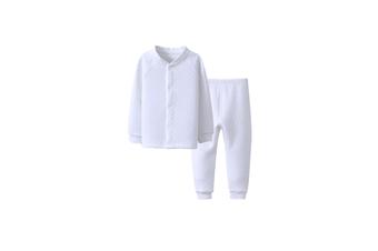 Girls Baby Boys Girls Cotton Clothing Set Pajama Set Long Pants Outfit  80cm