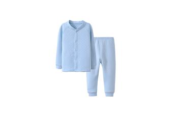 Girls Baby Boys Girls Cotton Clothing Set Pajama Set Long Pants Outfit  110cm