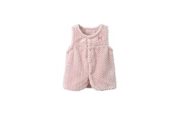Kids Baby Girl Winter Warm Flannel Waistcoat Thick Coat  100cm
