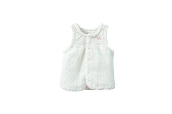 Kids Baby Girl Winter Warm Flannel Waistcoat Thick Coat  120cm