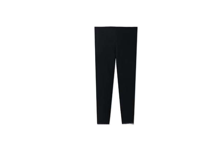 Girls Warm Stretch Leggings Tights Kids Pants Children Trousers  130cm