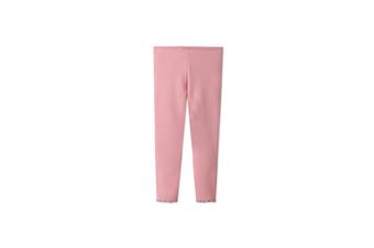 Girls Warm Stretch Leggings Tights Kids Pants Children Trousers  110cm
