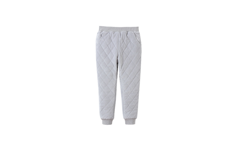Winter Baby Pants Children Plus Thick Velvet Pants Casual Trousers  130cm