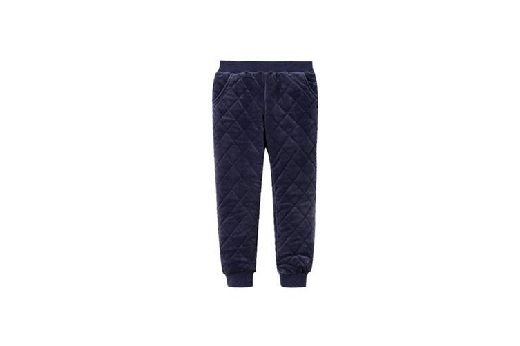 Winter Baby Pants Children Plus Thick Velvet Pants Casual Trousers  150cm