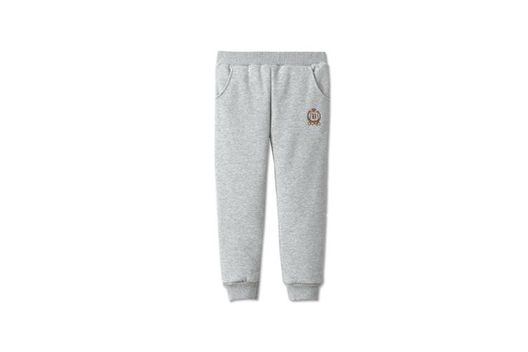 Autumn Winter Baby Pants Children Plus Thick Velvet Pants Kids Warm Pants  140cm