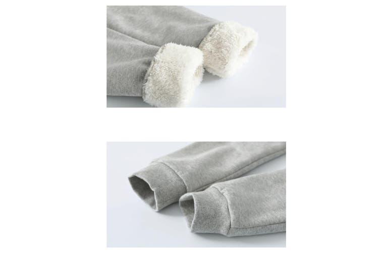 Autumn Winter Baby Pants Children Plus Thick Velvet Pants Kids Warm Pants  150cm