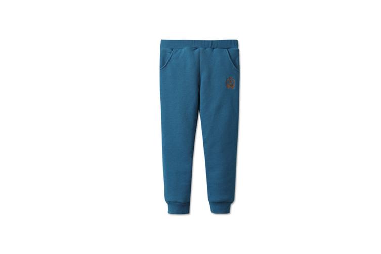 Autumn Winter Baby Pants Children Plus Thick Velvet Pants Kids Warm Pants  120cm