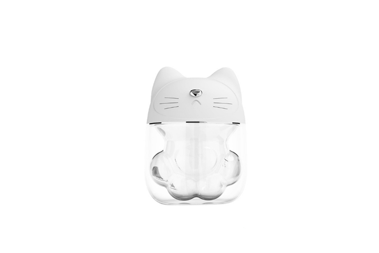 Cat paw type three in one humidifier desktop spray replenishment instrument  WHITE