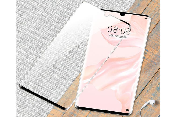 Applicable To Huawei P30 Curved Screen Tempered Glass Film