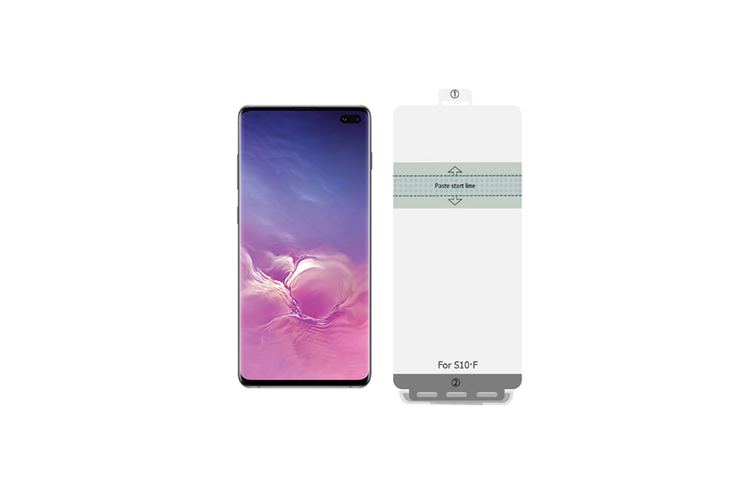 Suitable for Samsung S10 Hydraulic Film Toughened Soft Film Transparent Mobile Phone Film Samsung s10