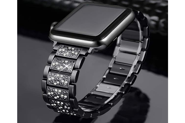 Bling Bands Compatible iWatch Band Metal Replacement Wristband  38mm